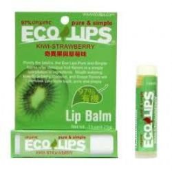 EcolipsEco Lips Kiwi-Strawberry Lip Balm(奇異果草莓味)