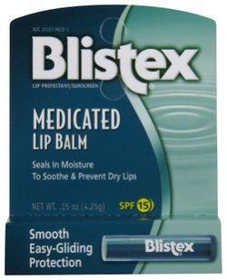 Blistex碧唇MedicatedLipBalmSPF15