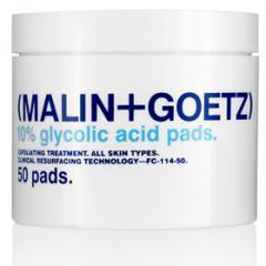 MALIN+GOETZ果酸去角質棉片