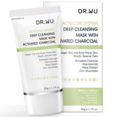 DR.WU達爾膚活性碳深層淨化面膜