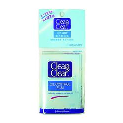 Clean&Clear可伶可俐魔力吸油面紙